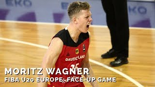 Moritz Wagner bei der FIBA U20-Europameisterschaft 2017: Face-up Game