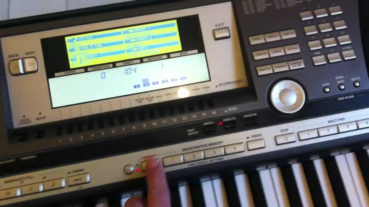synthetiseur yamaha psr 640 youtube rh youtube com manual de teclado yamaha psr 640 Yamaha PSR 540