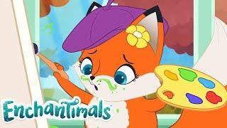 Enchantimals Россия | Забавные истории: Идеальный портрет | мультфильмы для детей