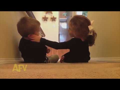 Cute Funny Kids Love & Kiss Compilation