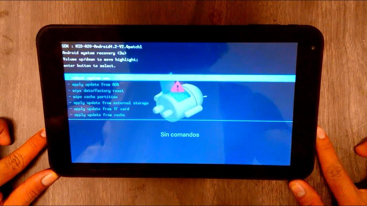 Cmo desbloquear hard reset Tablet TechPad todos los