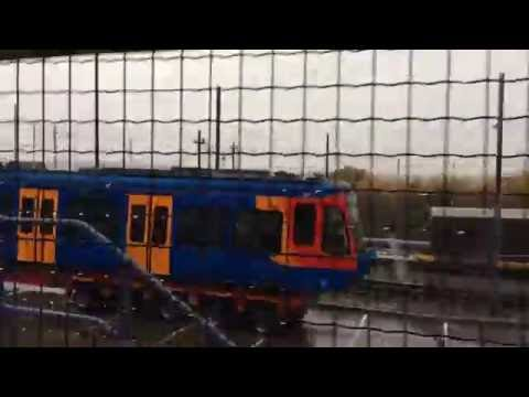 The Last 7th New Tram-Train 399207 At Nunnery Tram Depot Today