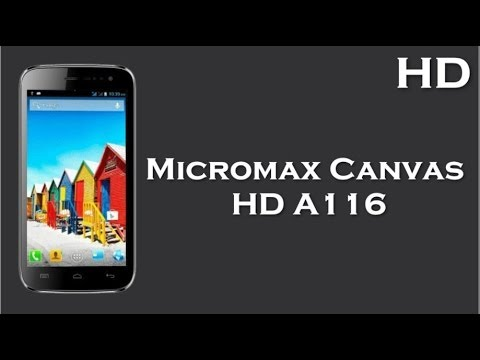 Micromax Canvas HD A116 Mobile Price and Specifications ...