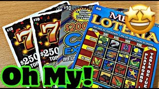 WHAT A SAVE! $10 TICKET PARTY! LET'S SEE WHAT THESE LOTTERY TICKETS ARE MADE OF!