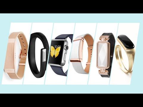 Умные браслеты для женщин Apple Watch, Jawbone UP4, Caeden Sona, Mira..