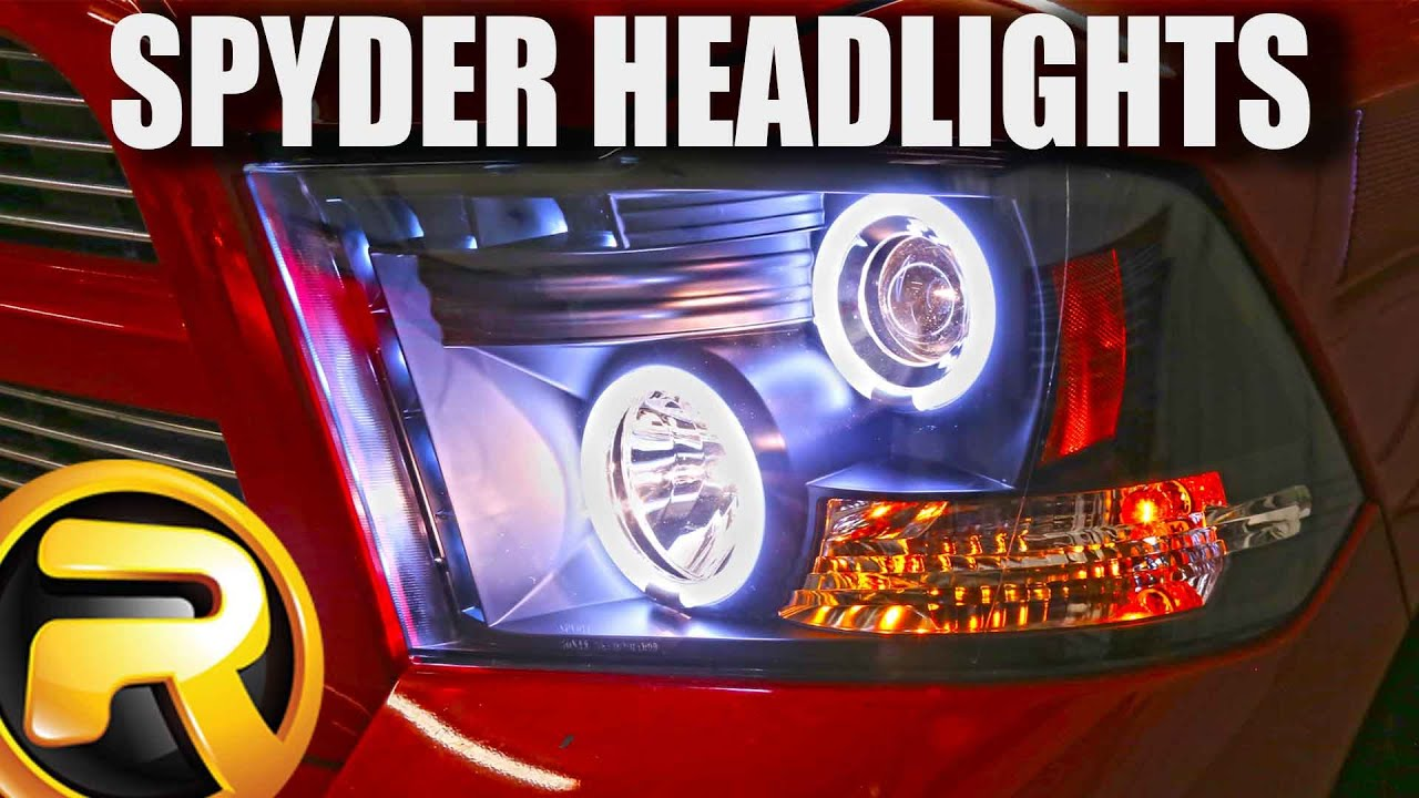 hight resolution of how to install spyder halo headlights
