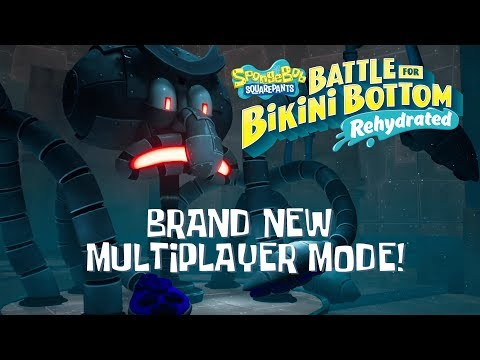 SpongeBob SquarePants: Battle for Bikini Bottom - Rehydrated - Multiplayer Trailer