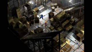 final fantasy 7 walktrough -intruder on the cargo ship-