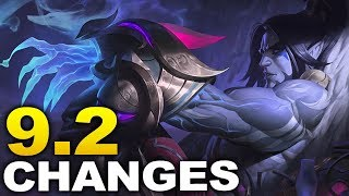 Massive changes coming soon in 9.2! Start of Season 9 Ranked!