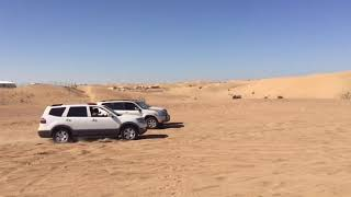 تطعيس كيا موهافي في البر في الرمل سيارة طعوس وتغاريز