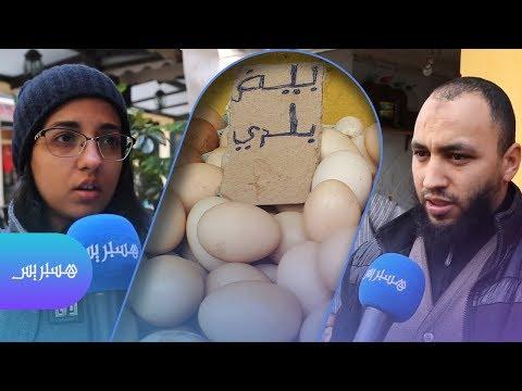 استهلاك البيض يرتفع.. 180 بيضة للمغربي في العام