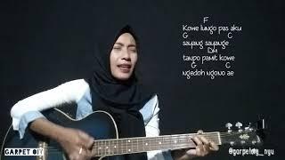 Gambar cover Korban Janji - GuyonWaton  [ cover ] gitar dangdut