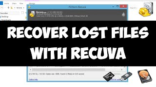 Recover lost files on Windows with Recuva