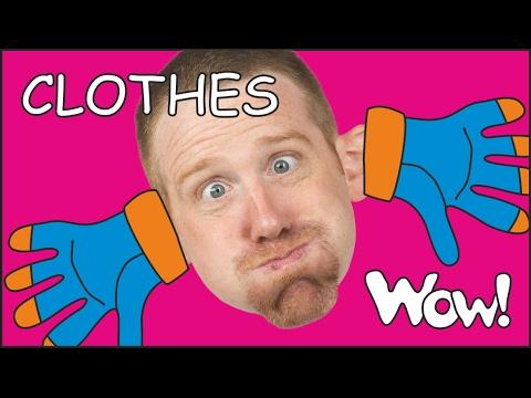 Thumbnail: Clothes for Kids | Kids Short Stories for Children from Steve and Maggie | Wow English TV