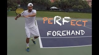 How To Hit Perfect Forehand Like Roger Federer (TENFITMEN - Episode 35)