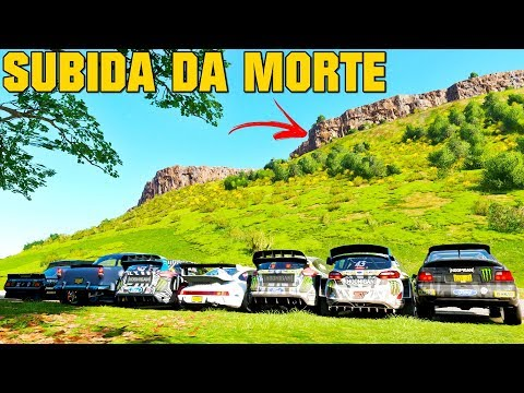 SUBIDA DA MORTE COM OS CARROS DA HOONIGAN - FORZA HORIZON 4 - GAMEPLAY thumbnail