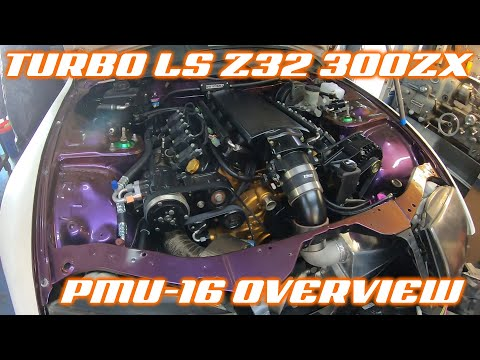 SINGLE TURBO LS SWAPPED 300ZX - PMU Install Overview
