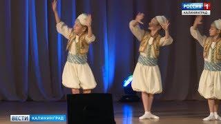 воспитанницы филиала МГАХ в Калининграде выступили на конкурсе хореографического искусства