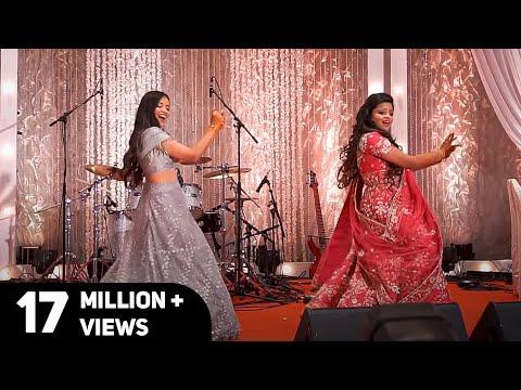 Leja Re | Sangeet Choreography | Dhvani Bhanushali | Natya Social