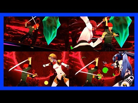 Persona 3: Dancing Moon Night (JP) - Break Out Of... (ATLUS Kitajoh Remix) [Video w/ All Partners]