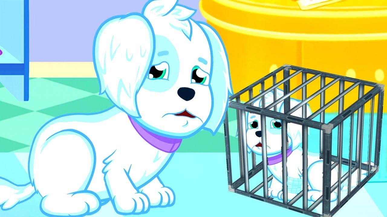 Fun Pet Care Kids Games - Let's Rescue Cute Little Puppy ...