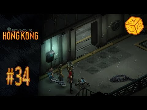 Ship robbery in a stormy night - Let's Play Shadowrun: Hong Kong #34