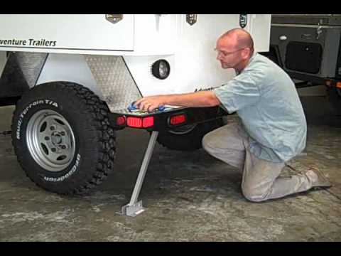 Trailer Rear Stabilizer Youtube