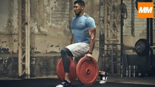 Download FIGHTING FIT - Anthony Joshua Intensive Boxing Strength & Conditioning Training | Muscle Maximum Mp3 and Videos