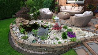 400+ garden and backyard landscape design ideas!