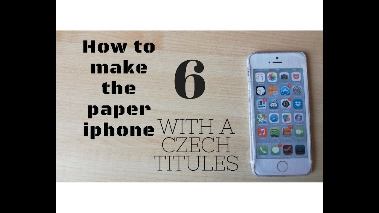 how to make a paper iphone how to make a paper iphone 6 7982