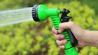 Unboxing of the water spray gun in Hindi