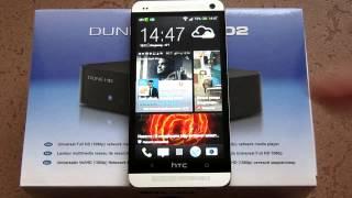 Медиаплеер Dune HD TV-102W-С и смартфон HTC ONE(Сегодня я хочу рассказать об интересной новинке -- гибридном медиаплеере Dune HD TV-102W-C и его связи с лучшим..., 2013-12-13T15:43:51.000Z)