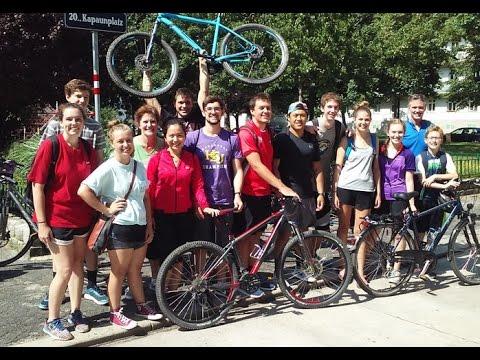 Bike Ride Along the Danube 2016 - HSU Leadership Studies Program