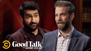 Kumail Nanjiani Accidentally Adopted His Comedy Idol's Mannerisms - Good Talk with Anthony Jeselnik