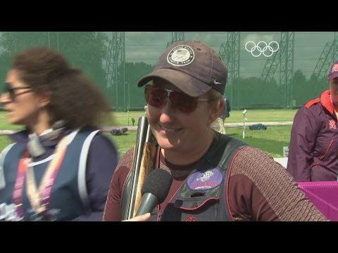 Rhode (USA) Wins Women's Skeet Shooting Gold -- London 2012 Olympics
