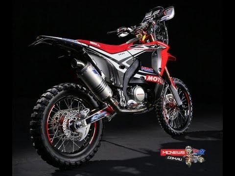 Honda unveils Dakar Rally model - the new CRF RALLY