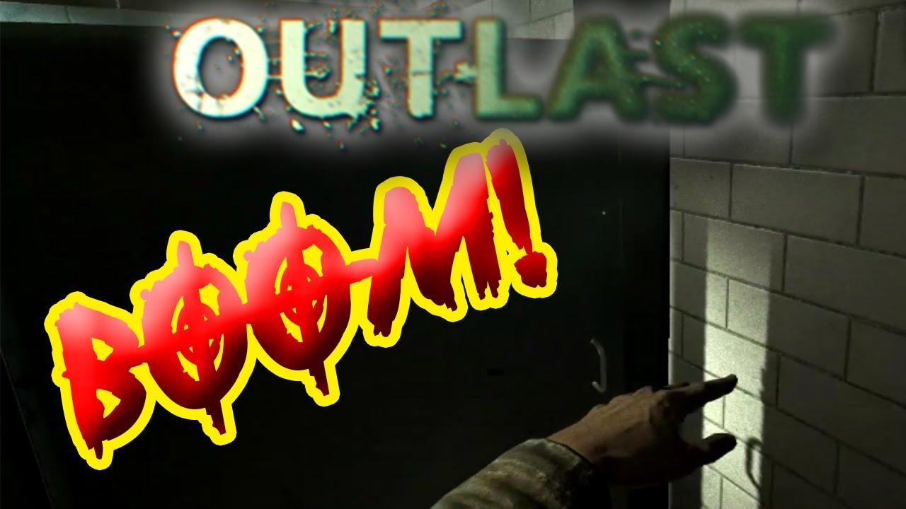 Funny outlast gameplay slamming doors youtube