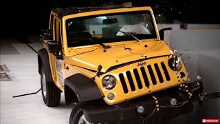 Teste de Colisão Jeep Wrangler-Crash Test Br