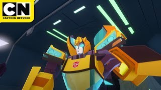 Transformers Cyberverse | The Scout Ship | Cartoon Network
