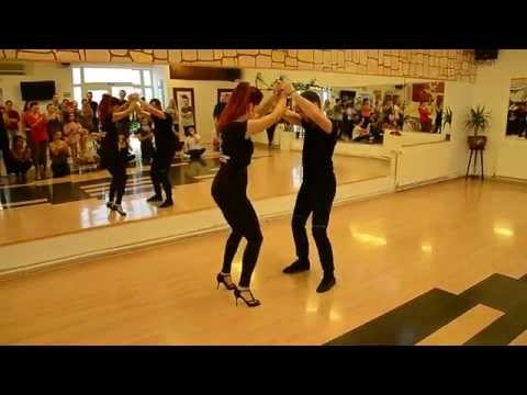 Sonrisa DC - Adrian & Judit - Dominican Bachata - intermediate