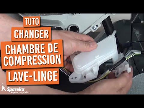 Comment remplacer la chambre de compression sur votre lave-linge ?