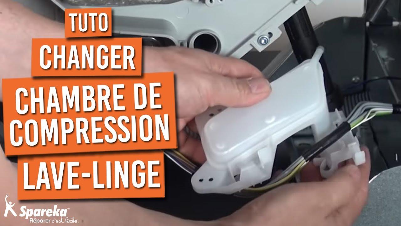 Comment remplacer la chambre de compression sur votre lave - Chambre compression lave linge ...
