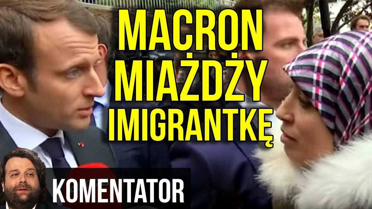 Francja się BUDZI ! Macron do Imigrantki: Wracaj do Swojego Kraju