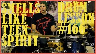 Smells Like Teen Spirit - Intro Drum Fill & Beat - Drum Lesson #166