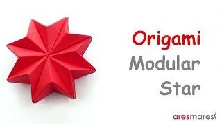 Origami Puffy Star (easy - modular)