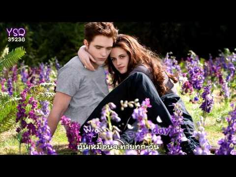 [Karaoke] A thousand years - Cristina Perri (ost. Twilight : Breaking dawn) [Eng - Thai sub]