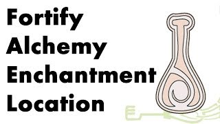Skyrim How to get the Fortify Alchemy Enchantment