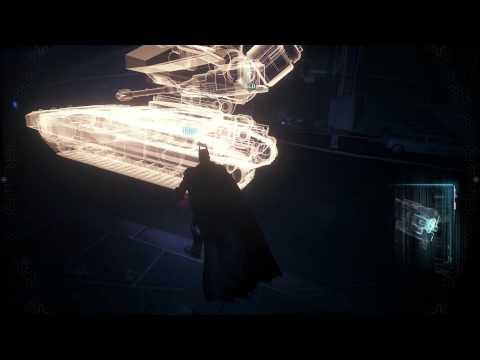 Batman Arkham Knight Scan the Cobra Drone to Locate its weak points