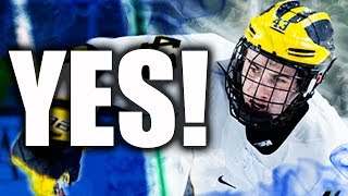 THE VANCOUVER CANUCKS HAVE DRAFTED QUINN HUGHES (REACTION - QUINTIN HUGHES DRAFT) YES