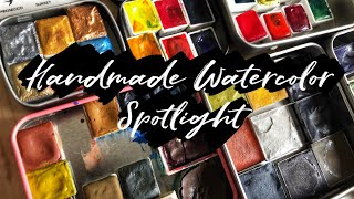 Huge Handmade Watercolor Spotlight | A. Gallo, The Creative Kinds and more!